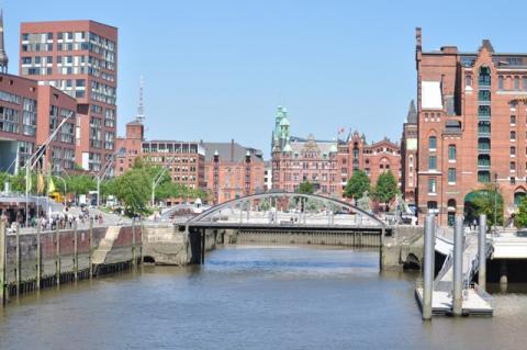 HafenCity Hamburg Germany cityview